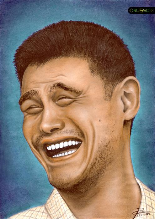Yao Ming by RUSSO